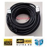 Ative ultra por muito tempo 20m, 30m, cabo de 50m 4k 2160p 2.0 HDMI