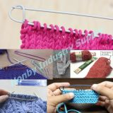 Crochet Aluminum Knitting Cable Needle Stitch Holder Pin