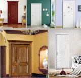 Porta de madeira contínua de madeira da cereja de China para a HOME/hotel/casa americanos