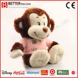 견면 벨벳 장난감 박제 동물 여자 아기 아이를 위한 연약한 원숭이 장난감