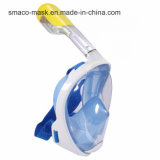 Smaco 180度の太字のPanoramicdesign Easybreathのスノーケルダイビングマスク
