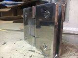 180 Grado de cristal a cristal cuadrados ducha de vidrio Bisagra