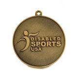 Medalha de bronze antiga personalizada da honra do esporte da universidade