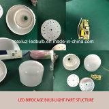 Luz de bulbo da lâmpada 7W do Birdcage do diodo emissor de luz do poder superior