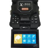 Da fibra óptica portátil do alinhamento do núcleo de Shinho X-800 jogo de emenda da máquina similar a Fujikura 70s