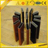 Le meilleur tube en aluminium de vente de tube plat en bois des graines avec les pièces en aluminium
