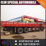 Caminhão do guindaste de Hotsales 8X4 Dongfeng 8ton Kuckle com guindaste