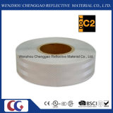 Diamant-Grad-Augenfälligkeit-festes weißes reflektierendes Sicherheits-Band (CG5700-OW)