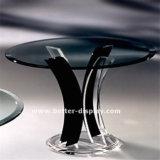 Squreの現代明確なアクリルのダイニングテーブル(BTR-Q7003)