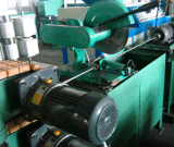 Máquina inoxidável da trança do fio de aço para a mangueira do metal e a mangueira da borracha