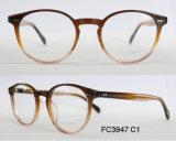 Bâti optique d'acétate de forme ronde de bonne qualité pour Madame avec la lunetterie (de la CE)