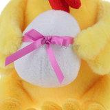 고품질 계란을%s 가진 견면 벨벳에 의하여 채워지는 귀여운 닭