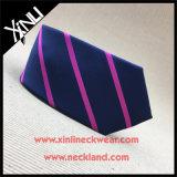 Gravata barato tecida de Microfiber do Mens