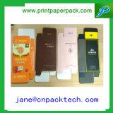 Rectángulo impreso aduana del cosmético del rectángulo de regalo del papel del rectángulo del perfume