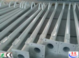 Via solare Integrated palo chiaro di buona qualità Q235