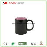 Taza de café estándar negra de cerámica en la promoción