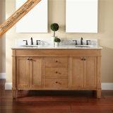 Vanità della stanza da bagno di legno di betulla di vanità della stanza da bagno di legno solido Fed-1279