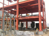 고층 Prefabricated 가벼운 강철 구조물 창고