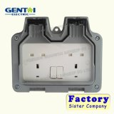 Os plásticos elétricos da alta qualidade de IP66 1gang 2gang Waterproof caixas
