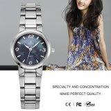 Reloj de acero 71090 de señora Analog Bracelet del reloj del cuarzo de las mujeres de la manera