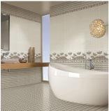 azulejo de la porcelana del azulejo de la pared interior de la inyección de tinta 6D de 300X600m m para la decoración casera (6919)