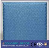Placas de painel acústicas da parede da tela decorativa do painel de parede da isolação sadia