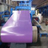 Materiales de construcción prepintada PPGI PPGI de color recubiertas de acero galvanizado bobina