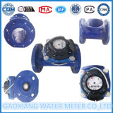 Le type mètre de Woltman d'eau d'irrigation a bridé type mètre d'eau