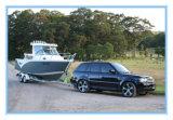 Bateau de cabine de l'aluminium 6.85m avec le dessus dur pour pêcher en mer
