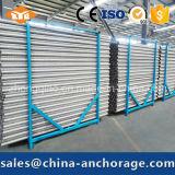 Трубопроводы металла Corrugated для конструкций столба напрягая