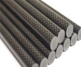 Облегченная штанга волокна углерода с глянцеватый строить /for