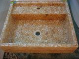 Lavabo sanitaire en pierre d'articles de galet (B1)
