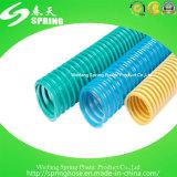 Boyau flexible de PVC Layflat de l'eau d'aspiration de PVC