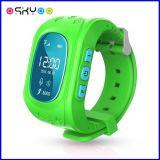 Reloj elegante de Bluetooth de la pulsera del perseguidor del GPS de los cabritos