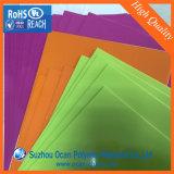 Feuille de PVC brillant coloré pour la couverture