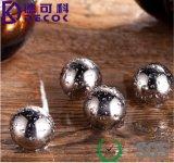 Bola de hielo de piedra de refrigeración del whisky reutilizable de la bola del refrigerador del acero inoxidable de la dimensión de una variable 304 de la bola