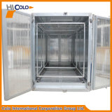 Horno Seco-apagado del tratamiento por lotes de la capa del polvo del gas