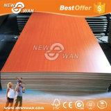 Placa de madeira Fsc-Certificada do MDF da melamina da cereja (placa de partícula, Blockboard)