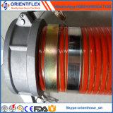 Distribuidor flexible espiral del manguito del agua de la succión del PVC