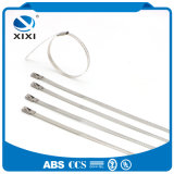 Ataduras de cables al aire libre de autoretención resistentes das alta temperatura