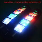 Heißes verkaufendes Super8pcs*3w RGBW Mini-LED Armkreuz-Licht