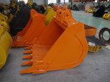 Peças de maquinaria para a venda, cubeta da construção do padrão da máquina escavadora da alta qualidade