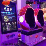 2 sièges 360 Degree Egg Vr 9d Cinema Simulator
