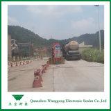 Escalas do caminhão para indústrias do transporte e da logística