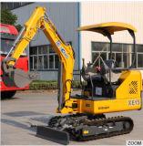 Землечерпалка землечерпалки машинного оборудования Xe15 машинного оборудования XCMG миниая