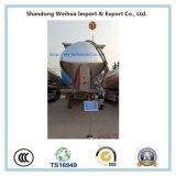 Горячий продавая алюминиевый навальный трейлер топливозаправщика цемента 60cbm Semi