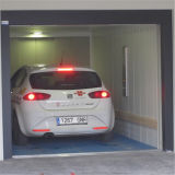 地階のガレージ電気自動移動式車の駐車上昇のエレベーター