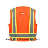 Klasse 2 Vest van het Netwerk van de Veiligheid het Weerspiegelende met Heet verkoopt in Markt Amercian