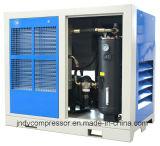 Dirigir el compresor de aire rotatorio conducido del tornillo