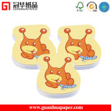 Notes collantes Shaped animales de note de notes collantes de fantaisie